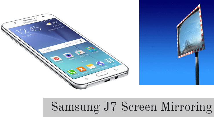screen mirroring samsung j7