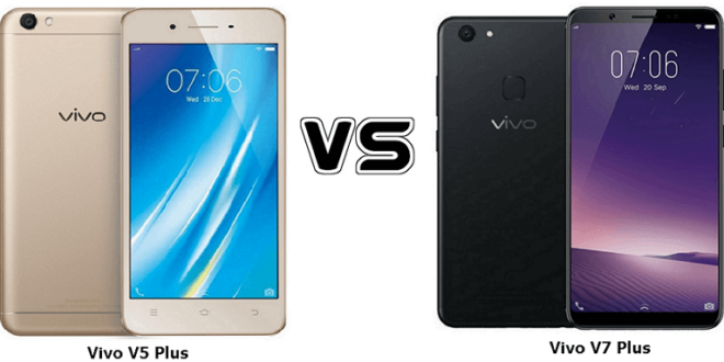 Vivo V5 Plus VS Vivo V7 Plus