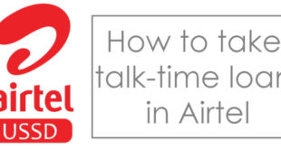 how to take loan in airtel
