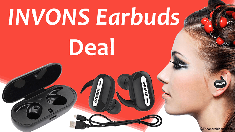 25% Amazon Coupons For Electronics – INVONS Earbuds Deal- theandroidportal.com