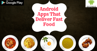 5 Android apps that deliver fast food