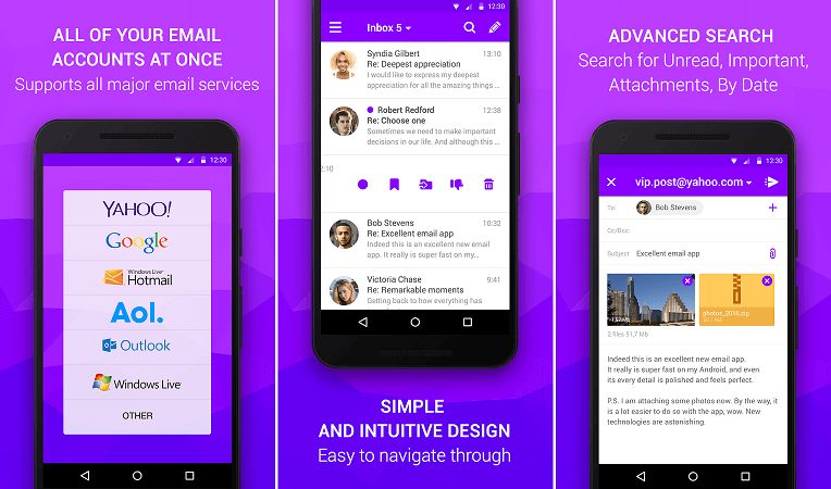 Best Email Client Apps For Android - Download Now