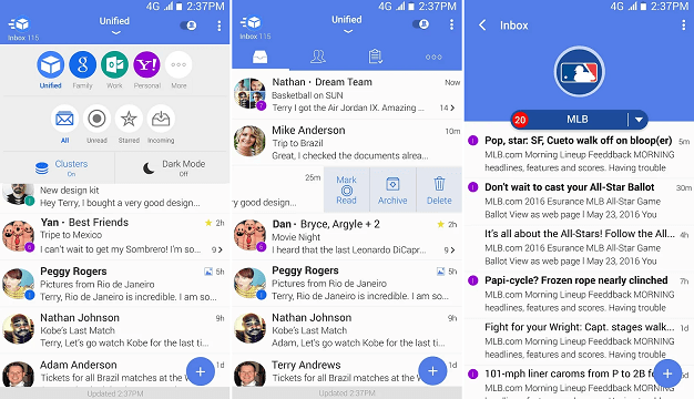 Email TypeApp - Mail & Calendar