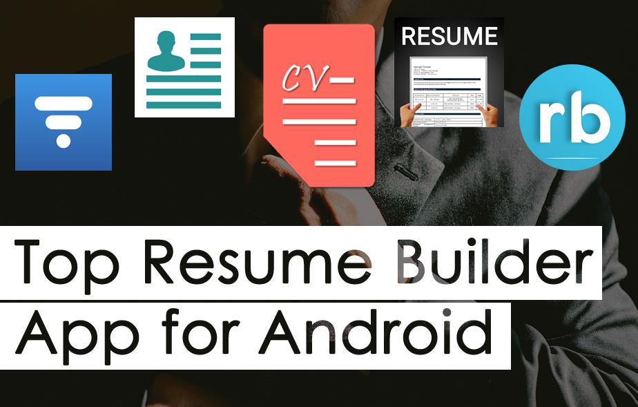 best free resume builder apps for android devices