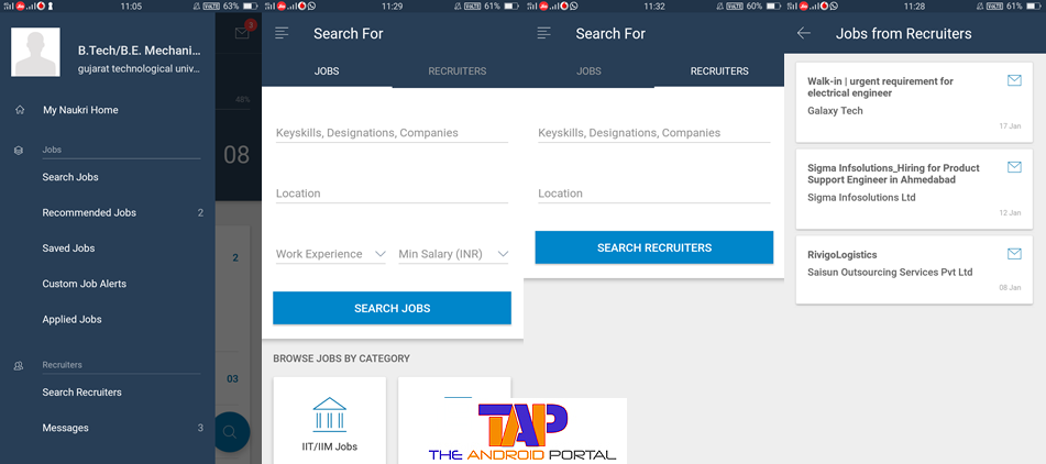 best android apps for job seekers  download now