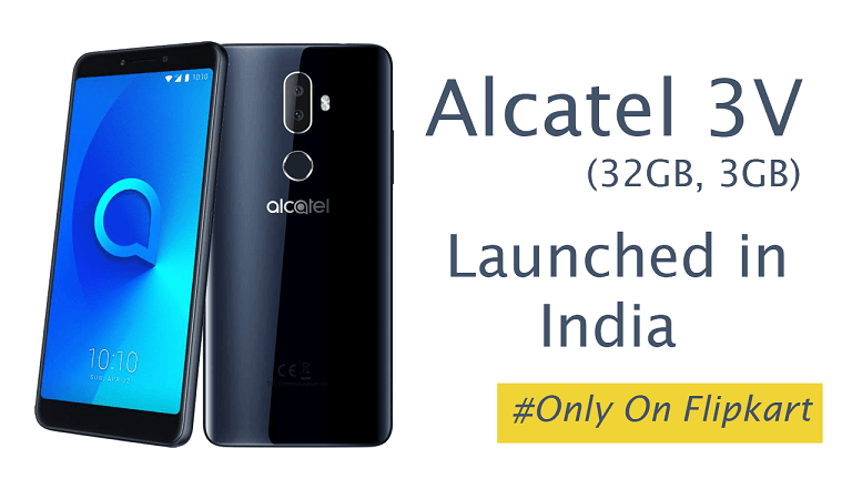 Alcatel V3 With A 6.0 Inches 18:9 Aspect Ratio Display Launched 1