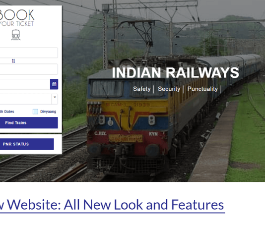 IRCTC's New Website All New Look and Features - theandroidportal.com