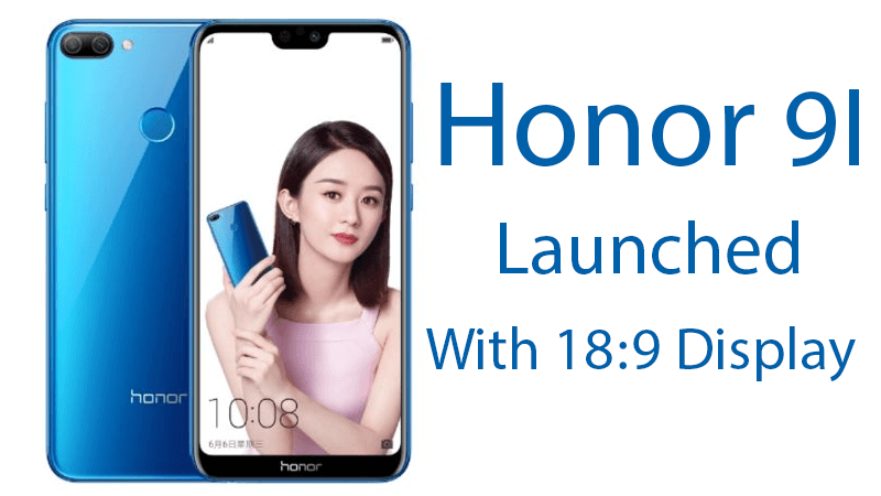 Honor 9i Announced by Huawei with Stylish Look & Features 3