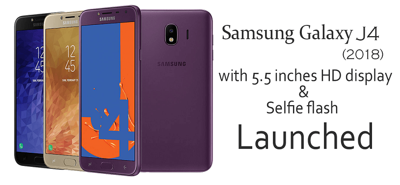Samsung Galaxy J4 Will Be Launched In India Soon (1)