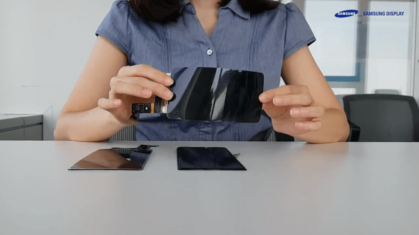 Samsung has announced the Unbreakable OLED Panel 1