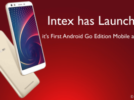 Intex has Launched It's First Android Go Edition Mobile as Infie 3 - theandroidportal.com