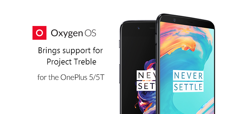 OxygenOS brings support for Project Treble