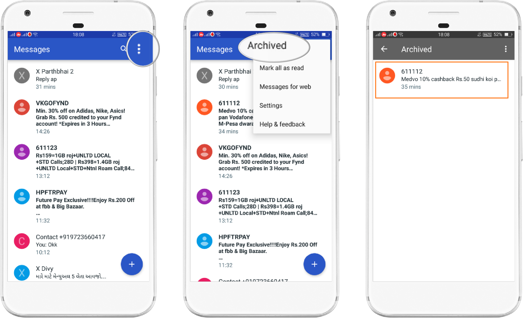 Android Messages (View Archive)- Theandroidportal.com