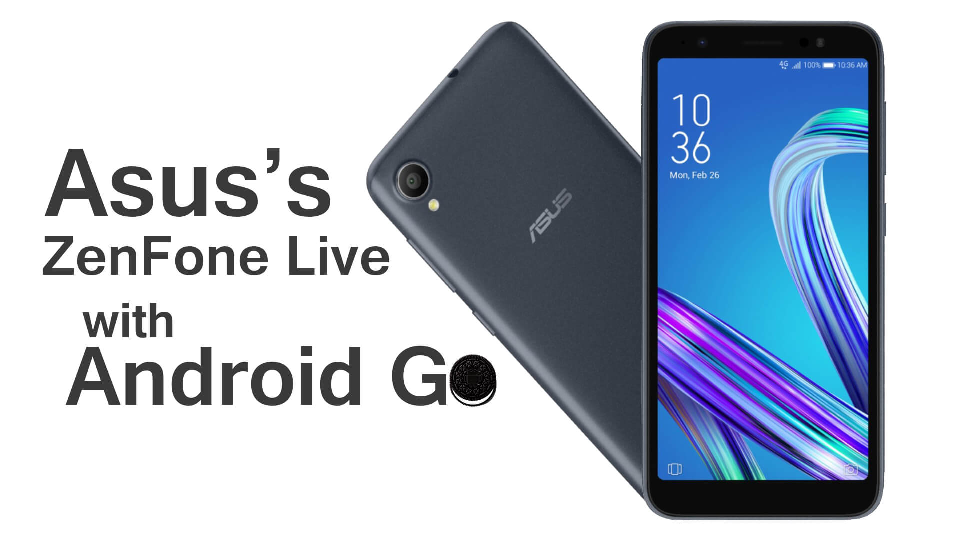 Asus Zenfone Live with Android Go