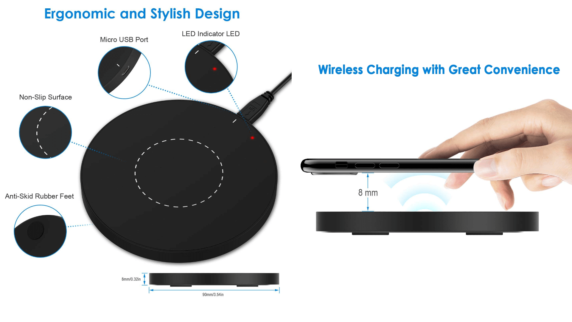 Best Wireless Charging Pad For Lg G4 Theandroidportal Mobile Charger Circuit Diagram Qi Jetech Universal