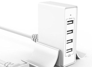 Atizzy Multi Port USB Charger with Phone Stand