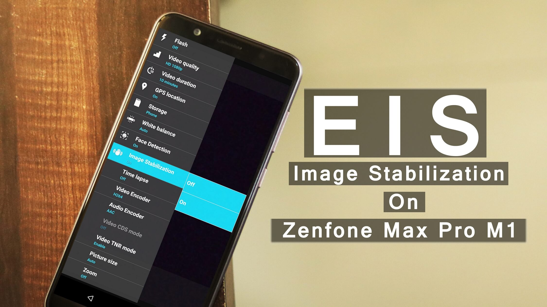 EIS on Zenfone Max Pro M1