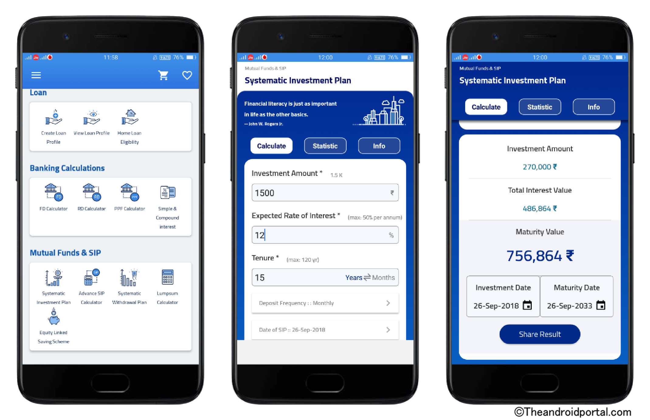 sip calculator android apps