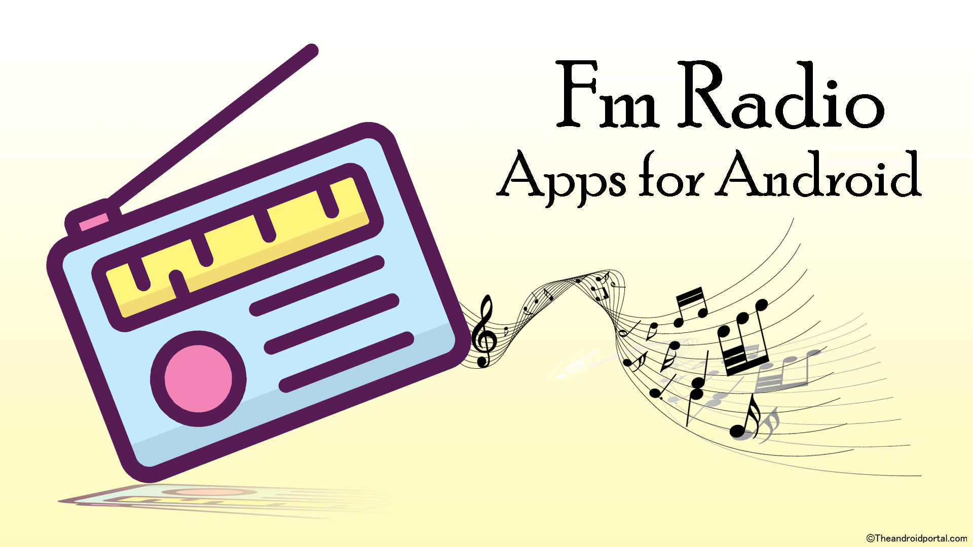 how to make a radio app for android