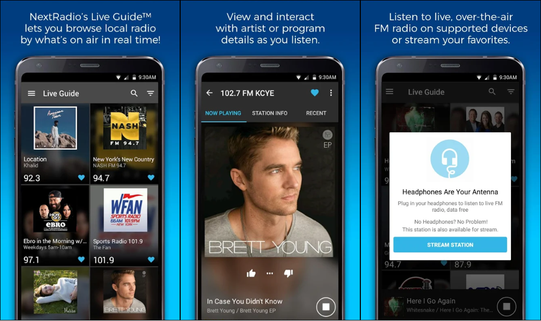 FM Radio App For Android Without Internet