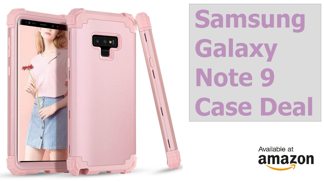 best website a83af 4c9ab Samsung Galaxy Note 9 Case - Hot Deal - TheAndroidPortal