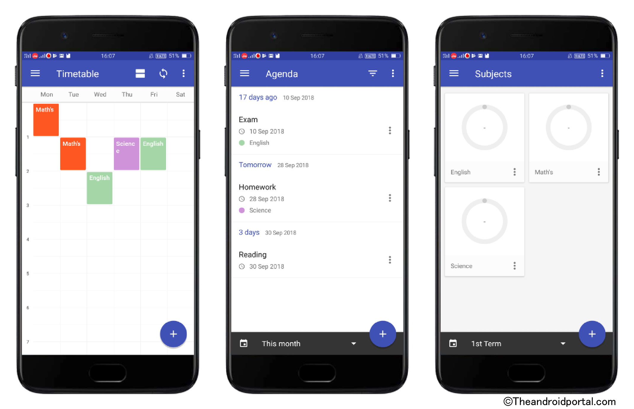 best study planner apps for android