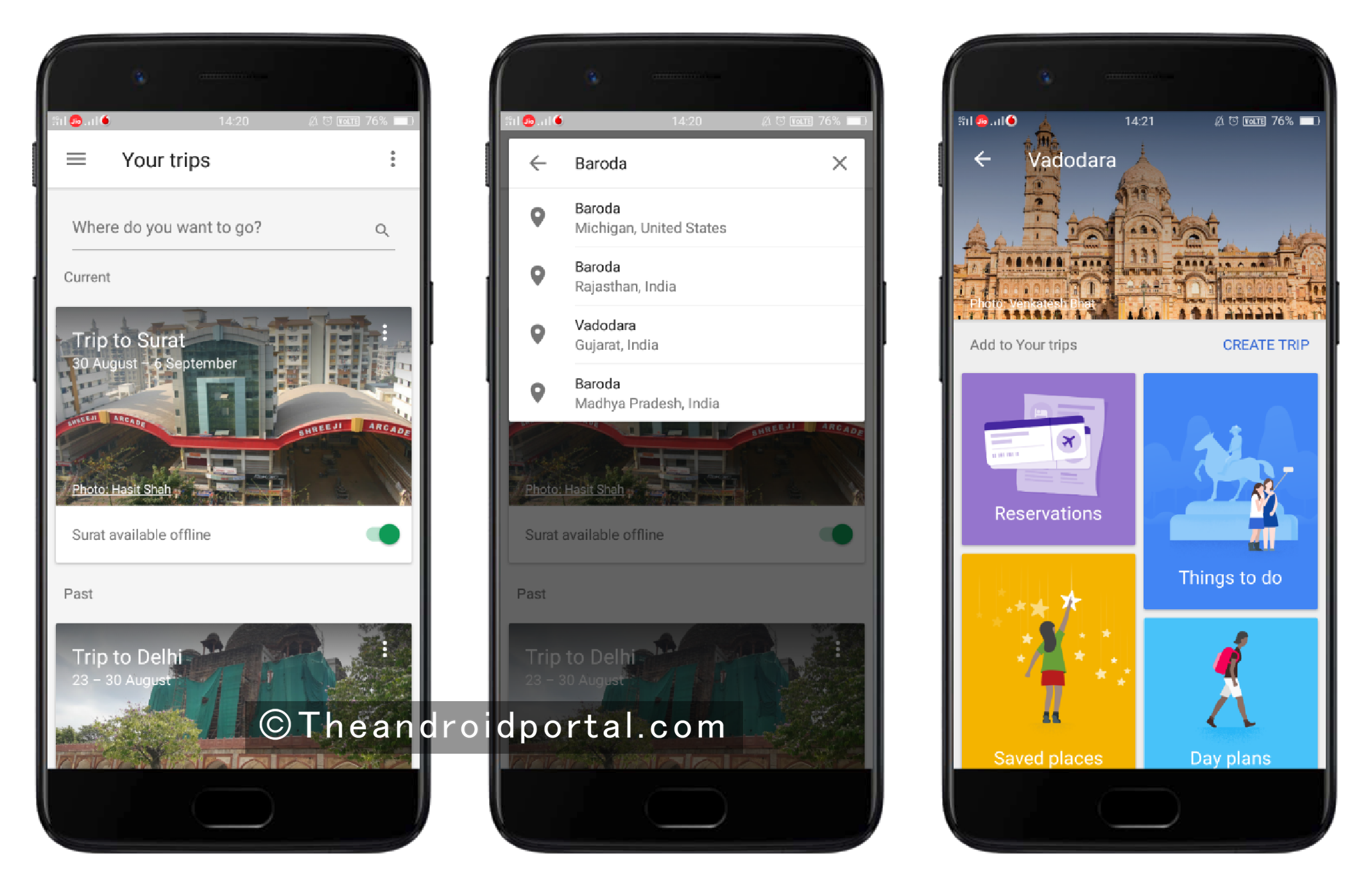 Search Destination - theandroidportal.com