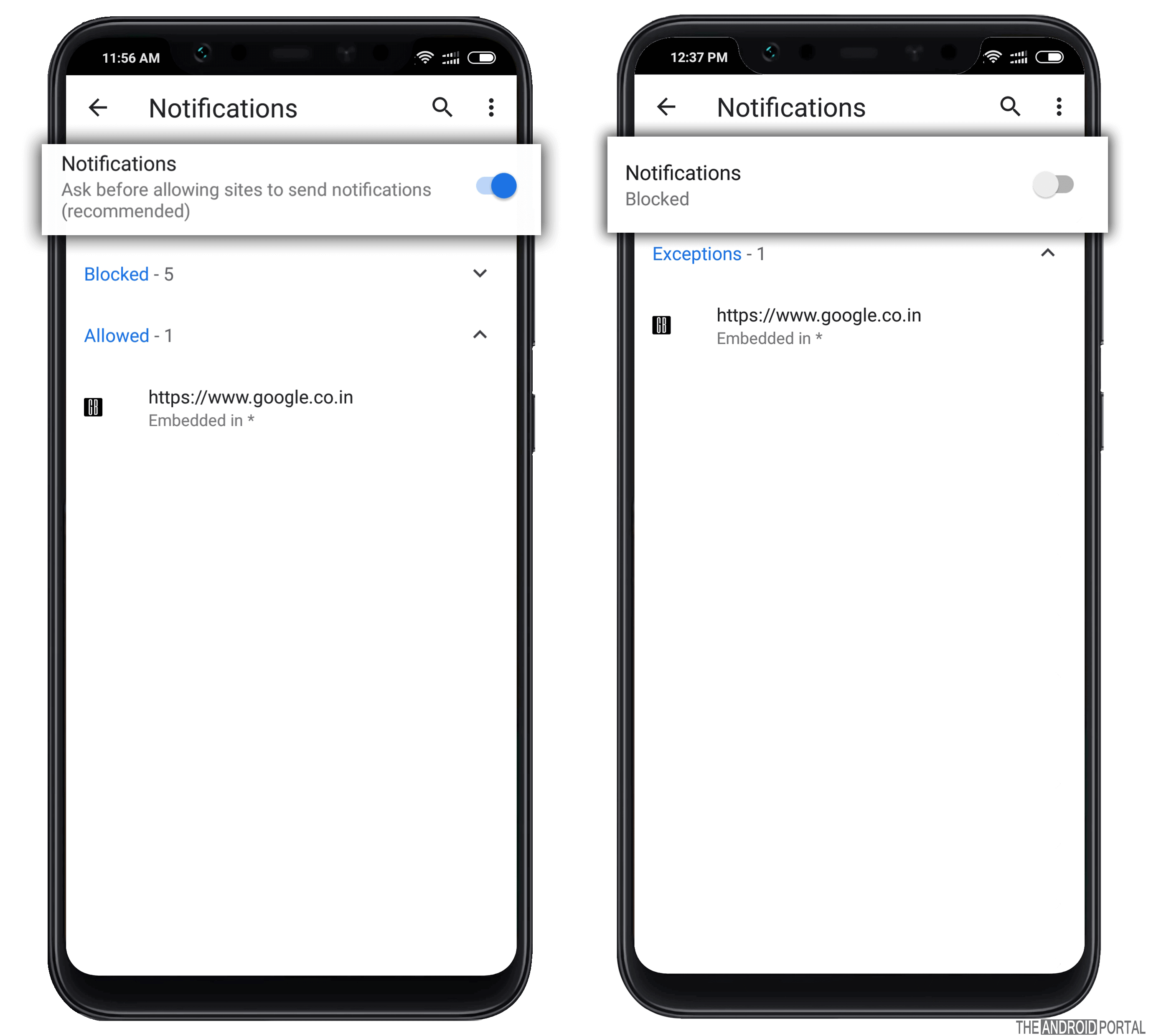 Turn Off Chrome Notifications on Android & PC - TheAndroidPortal
