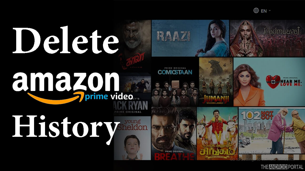 0a98eeaade8 How to Delete Viewing History on Amazon Prime - TheAndroidPortal