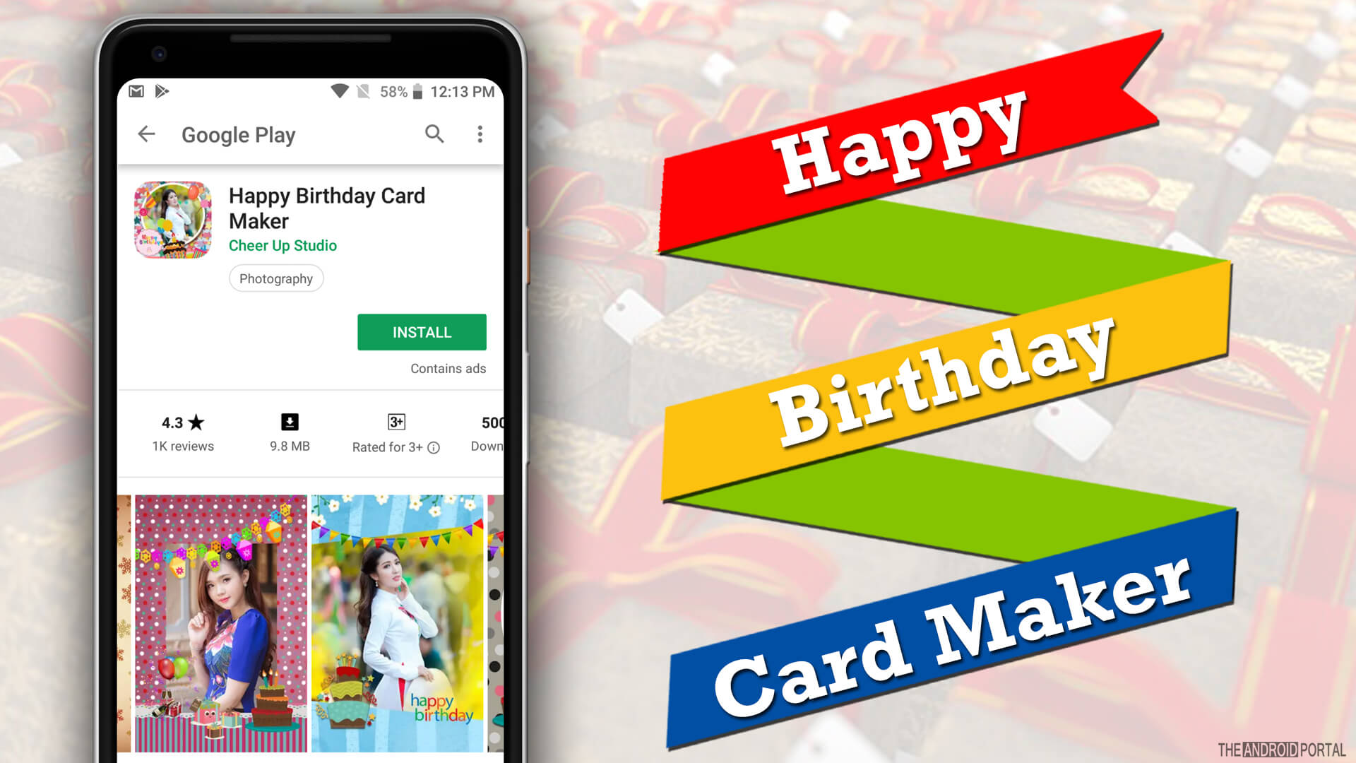Birthday Card Maker Apps For Android
