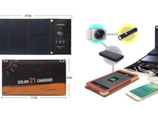 Best USB Solar Charger with Foldable Design