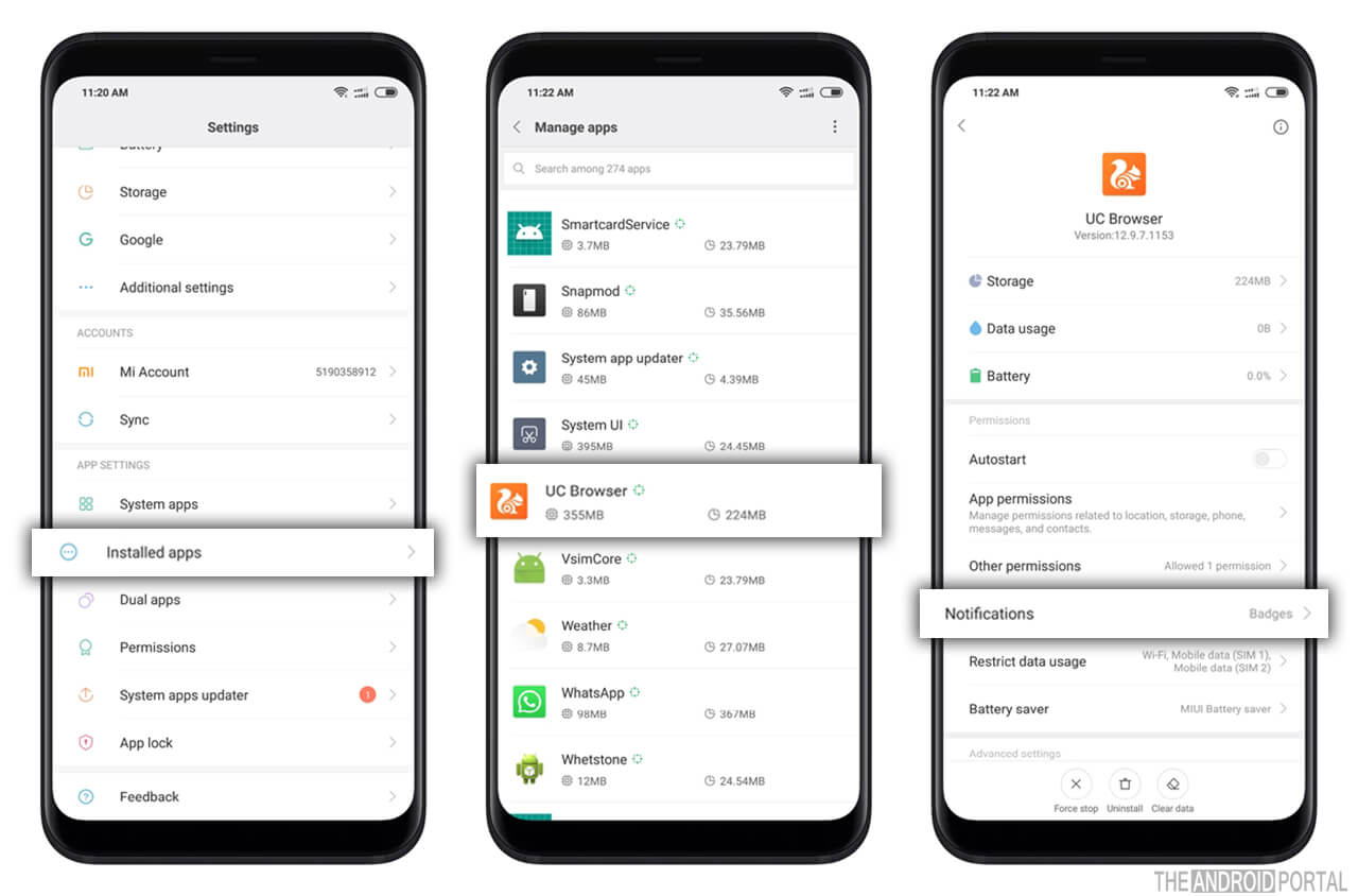 UC Browser Notifications - All You Need to Know - TheAndroidPortal