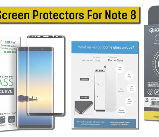 Best Screen Protectors For Note 8