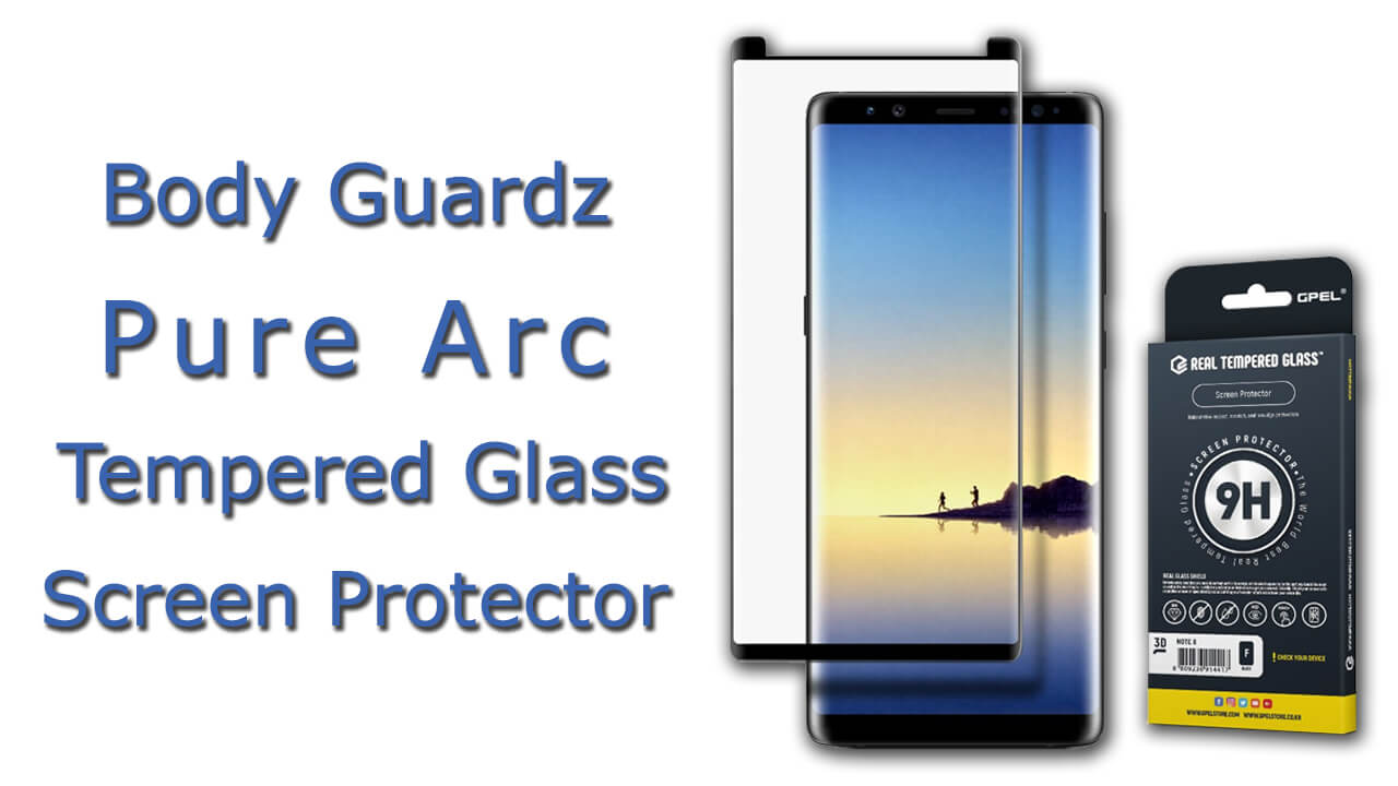Body Guardz Pure Arc Tempered Glass Screen Protector