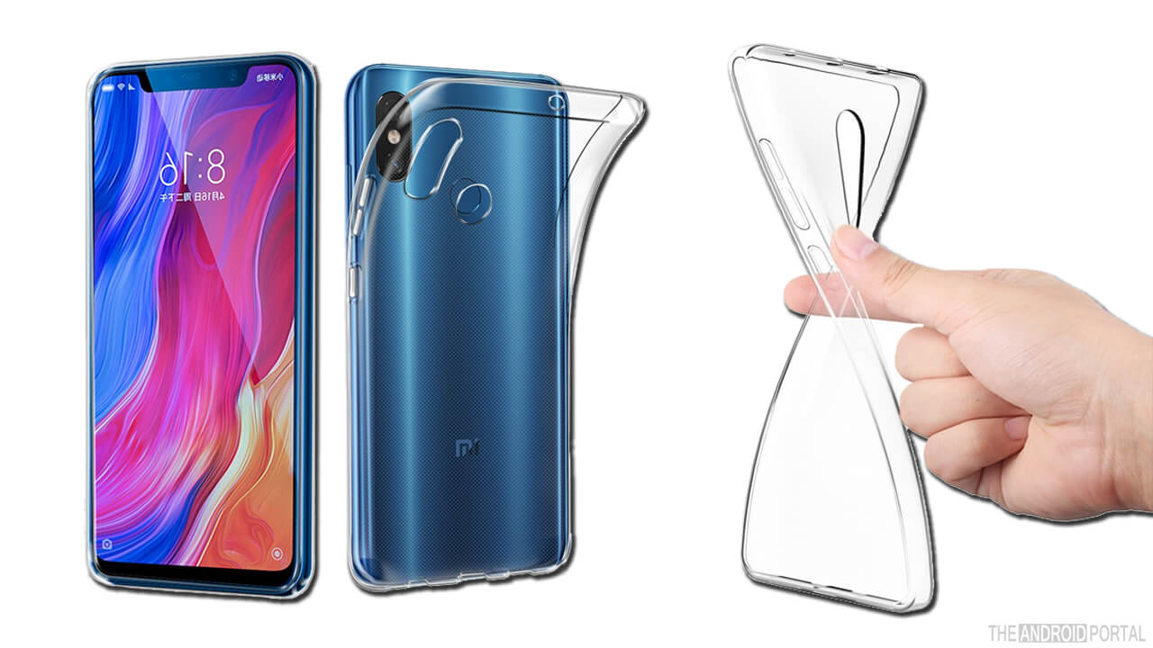 Avidet Xiaomi Mi 8 Transparent Case