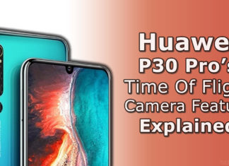 Huawei P30 Pro's Time-Of-Flight Camera Feature Explained!