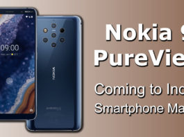 Nokia 9 PureView Coming to Indian Smartphone Market