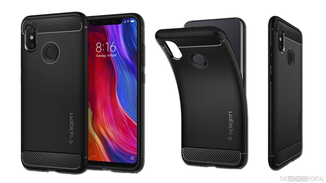 Spigen Rugged Armor Mi 8 Case
