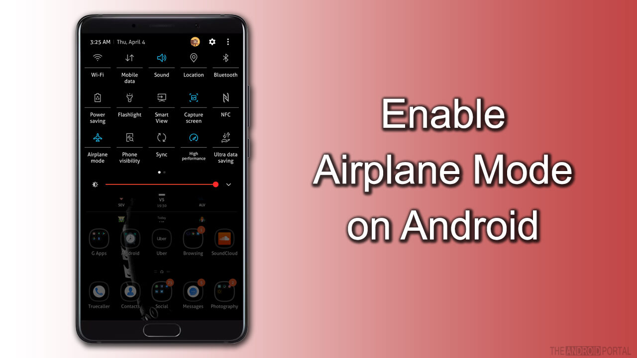 Enable Airplane Mode on Android