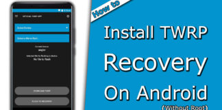 How to Install TWRP Recovery on Android with and Without Root