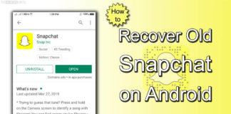 How to Recover Old Snapchat on Android