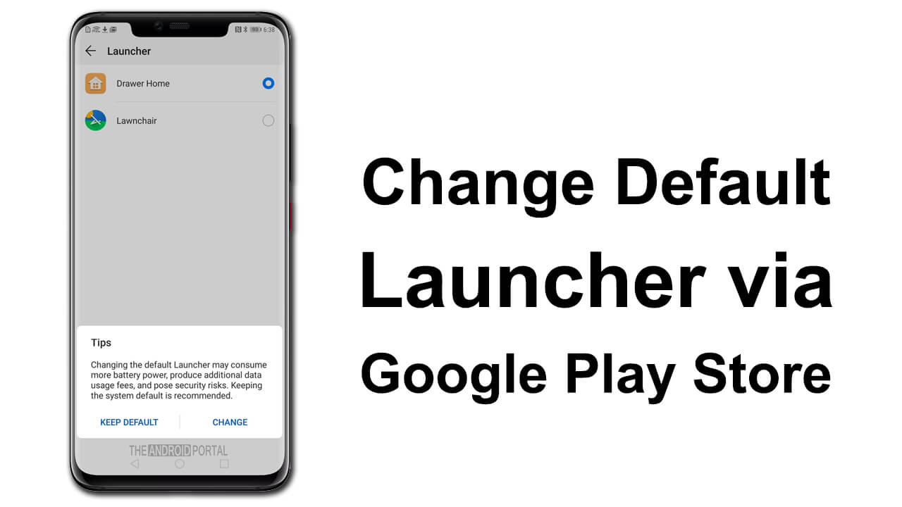 How to Change Default Launcher on Huawei Phones - TheAndroidPortal
