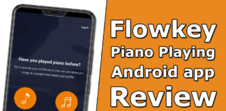 Flowkey Piano Playing Android app Review