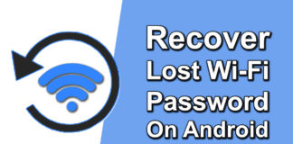 How to Recover Lost Wi Fi Password on Android