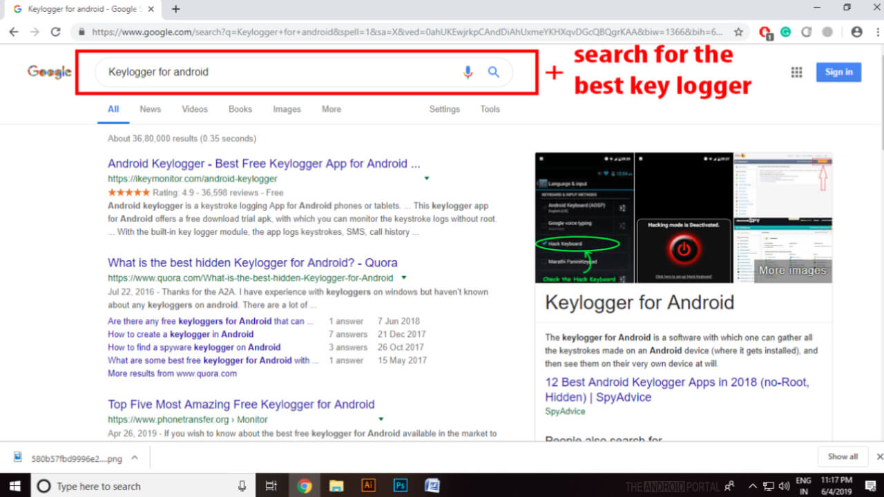 Key logger in android: Everything You Should Know - TheAndroidPortal