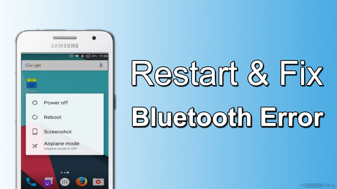 Android Bluetooth Not Connecting Error - TheAndroidPortal