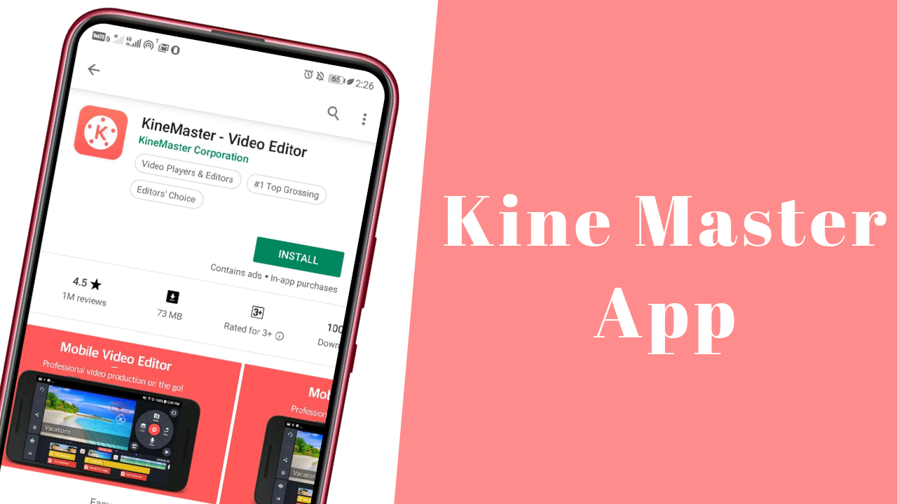 Kine Master android app