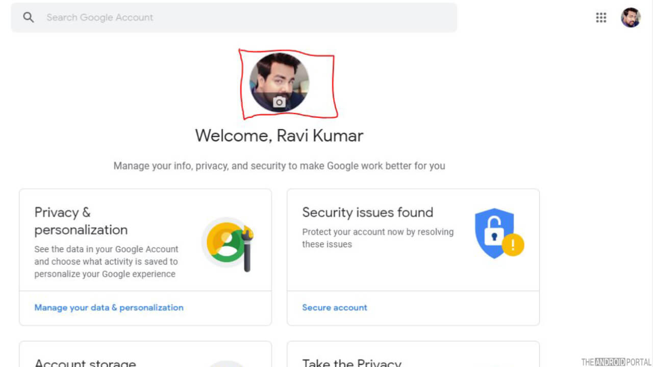 How to Change Google Account Picture On Android