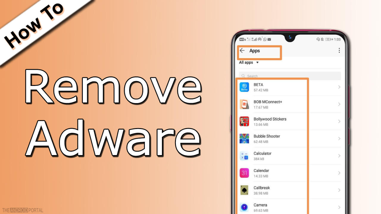 How To Remove Adware From Android? - TheAndroidPortal