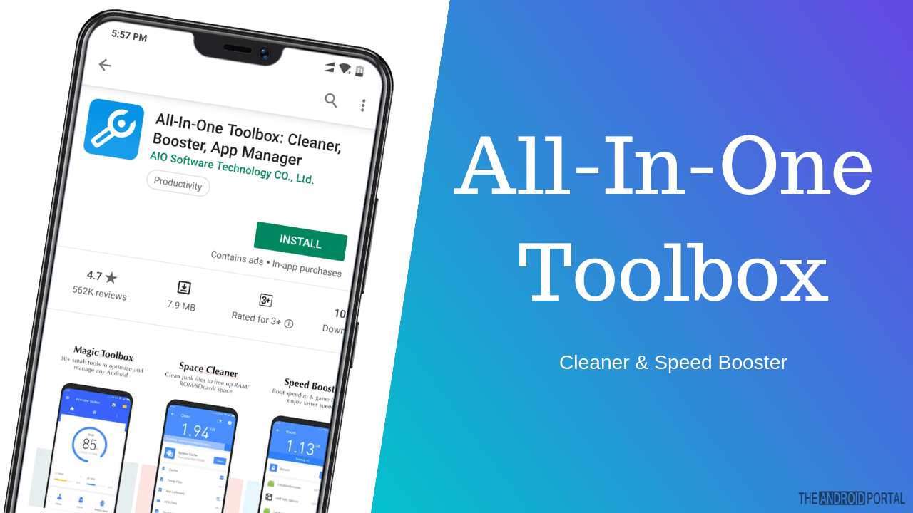 All-In-One Toolbox: Cleaner & Speed Booster